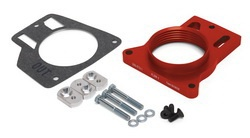 Airaid 200-512-1 PowerAid Throttle Body Spacer 99-06 Chevy/GMC Silverado/Sierra/SUV 4.8, 5.3, 6.0L/ '04 Pontiac GTO 5.7L