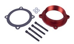 Airaid 300-637 PowerAid Throttle Body Spacer 11-13 Dodge Charger, Challenger, Durango Jeep GC, 12-13 Jeep Wrangler 3.6L V6 Pentastar