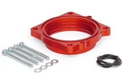 Airaid 350-635 PowerAid Throttle Body Spacer 2010 Dodge Charger & Challenger, Chrysler 300C and Jeep Cherokee 6.1L SRT8