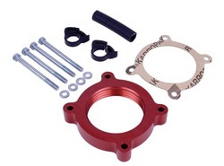 Airaid 450-636 PowerAid Throttle Body Spacer 11-13 Ford Mustang 3.7L V6 / 11-13 Ford F-150 3.7L V6