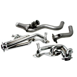 BBK Performance 1567 CNC-Series Performance Header Chrome 1.625 in.