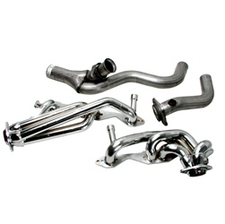 BBK Performance 1596 CNC-Series Performance Header Chrome 1.625 in.