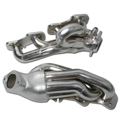 BBK Performance 1615 Tuned-Length Shorty Header Chrome 1.625 in.