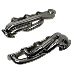 BBK Performance 3515 Premium Series Performance Header Chrome 1.625 in. Shorty