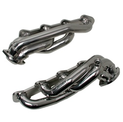 BBK Performance 3516 Premium Series Performance Header Chrome 1.625 in. Shorty