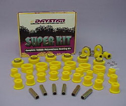 Daystar KJ09007BK Super Kits Black Incl. All Polyurethane Components Available For Vehicle