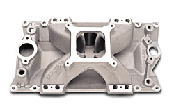 Edelbrock 29135 SBC Super Victor Series  Intake Manifold  Non-EGR 3500-8000 rpm E-Tec/Vortec Heads  EFI  Racing Use Only