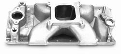 Edelbrock 2978 SBC Victor E  Intake Manifold  Non-EGR  4500-8500 rpm  262-400 cid Race  For 4 bbl Carbs  Racing Use Only