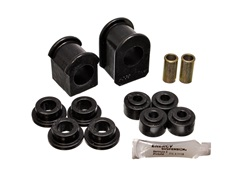 Energy Suspension 4.5126G Sway Bar Bushing Set Black Front Or Rear Bar Dia. 1 1/8 in. Performance Polyurethane