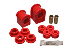 Energy Suspension 4.5126R Sway Bar Bushing Set Red Front Or Rear Bar Dia. 1 1/8 in. Performance Polyurethane