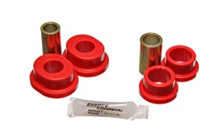 Energy Suspension 4.7116R Track Arm Bushing Set Red Rear Performance Polyurethane
