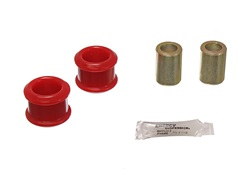 Energy Suspension 4.7126R Track Arm Bushing Set Red Front Performance Polyurethane