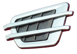 Husky Liners 19000 Add-A-Vent Universal Chrome Original Design