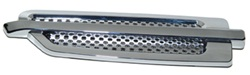 Husky Liners 19002 Add-A-Vent Universal Chrome Fits Smaller Trucks
