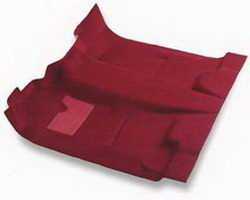 Nifty 52405 Pro-Line Replacement Carpet Dark Red Complete Set Front And Rear
