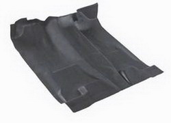 Nifty 938701 Pro-Line Molded Vinyl Floor Covering w/Floor Shifter Covers Entire Vehicle Floor Area Black Front And Rear