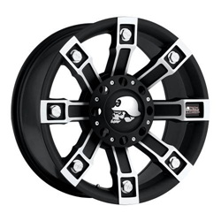 Pro Comp Alloy 7113-2926 Xtreme Alloys Series 7113 Black Finish Size 20x9 Bolt Pattern 5x5.5 in. And 5x150mm Back Space 5 in. 