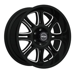 Pro Comp Alloy 8101-2989 Xtreme Alloys Series 8101 Gloss Black Finish Size 20x9 Bolt Pattern 8x180mm Back Space 4.5 in. 