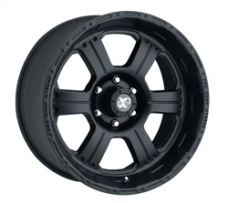 Pro Comp Alloy 7089-6882 Xtreme Alloys Series 7089 Black Finish Size 16x8 Bolt Pattern 8x6.5 in. Back Space 4.5 in.