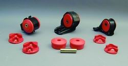 Prothane 8-1908 Motor Mount Insert Kit Red