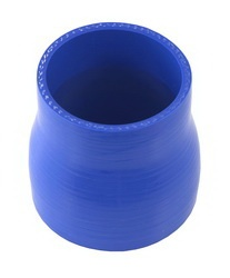 Spectre Performance 9326 Air Intake Reducer Coupler Blue Connects 3 in. Dia. Intake Tube To 2.5 in. Dia. Components L-3 in. Incl. Rubber Coupler/2 Clamps Silicone