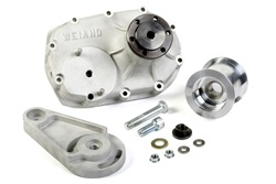 Weiand 7201WND Supercharger Nose Drive Assembly Vintage 6-71 Kit Includes Tensioner/Pulley