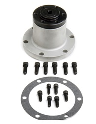 Weiand 7103WIN Supercharger Nose Drive Assembly For 6-71 SB Chevy 3.75 in. Long 2 in. Register 8mm Pitch Satin Finish