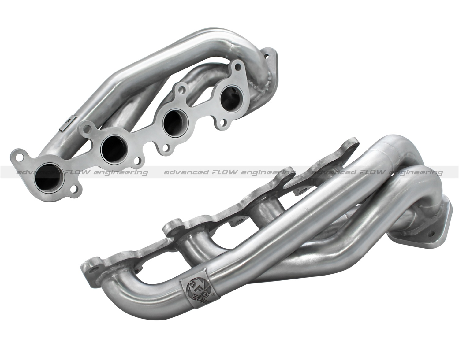 AFE Filters Power 48-43001 Twisted Steel Header  1 5/8 in. 14 Gauge 409 Stainless Steel Tubing  3/8 in. Thick Head Flange  Merged Collector at Sears.com
