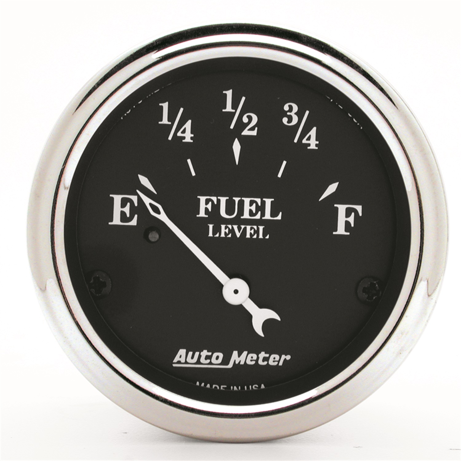 Auto Meter 1718 Old Tyme Black; Fuel Level Gauge at Sears.com