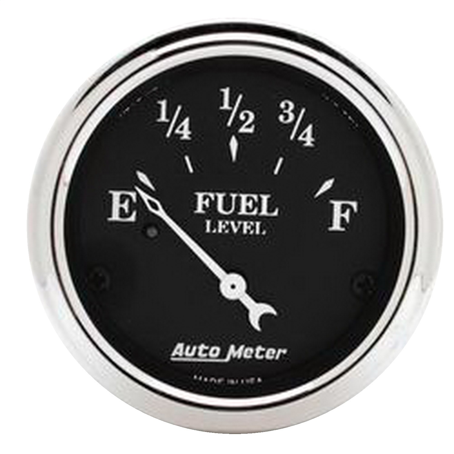 Auto Meter 1717 Old Tyme Black; Fuel Level Gauge at Sears.com