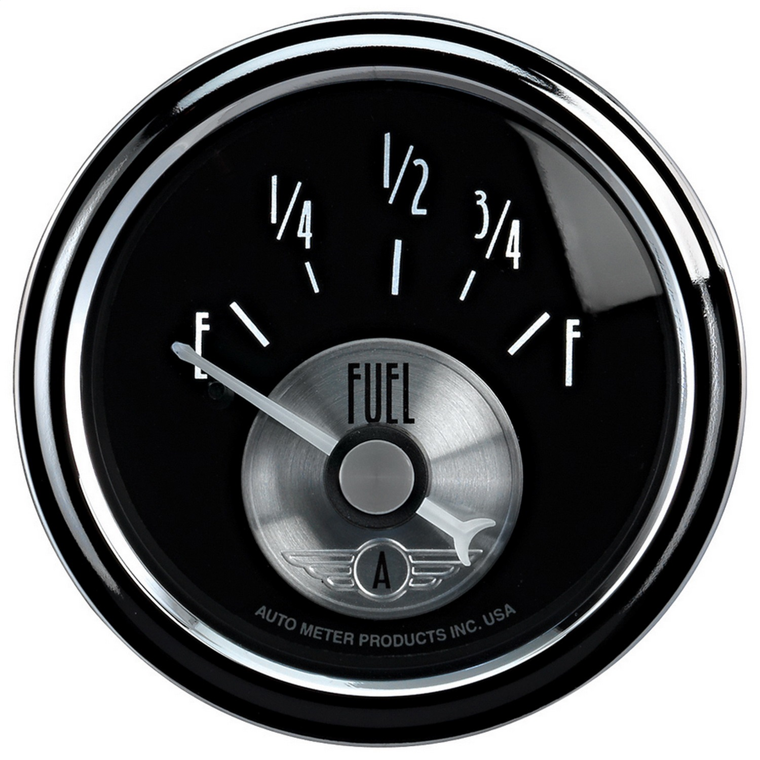 Auto Meter 2014 Prestige Series; Diamond Black; Fuel Level Gauge at Sears.com