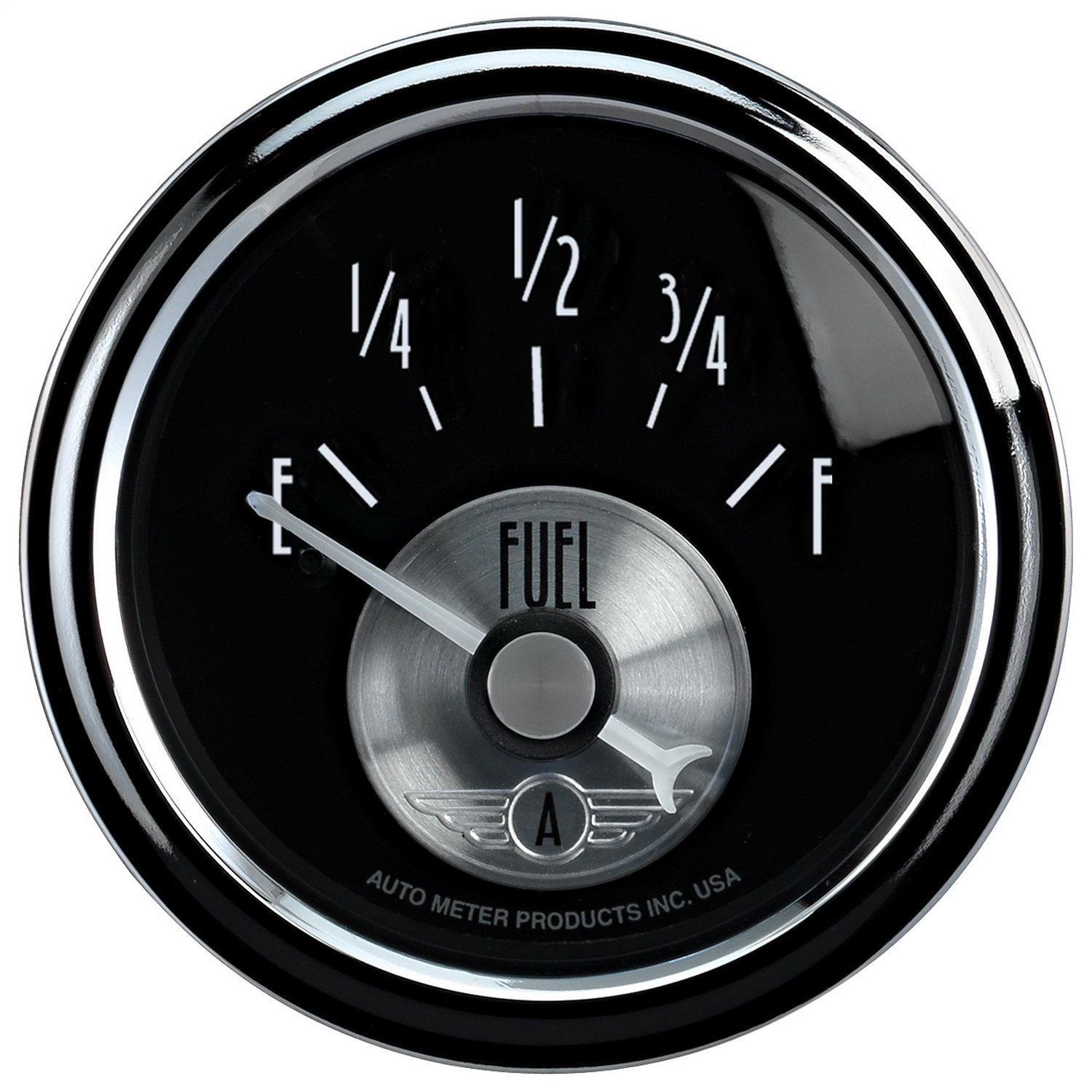 Auto Meter 2016 Prestige Series; Diamond Black; Fuel Level Gauge at Sears.com