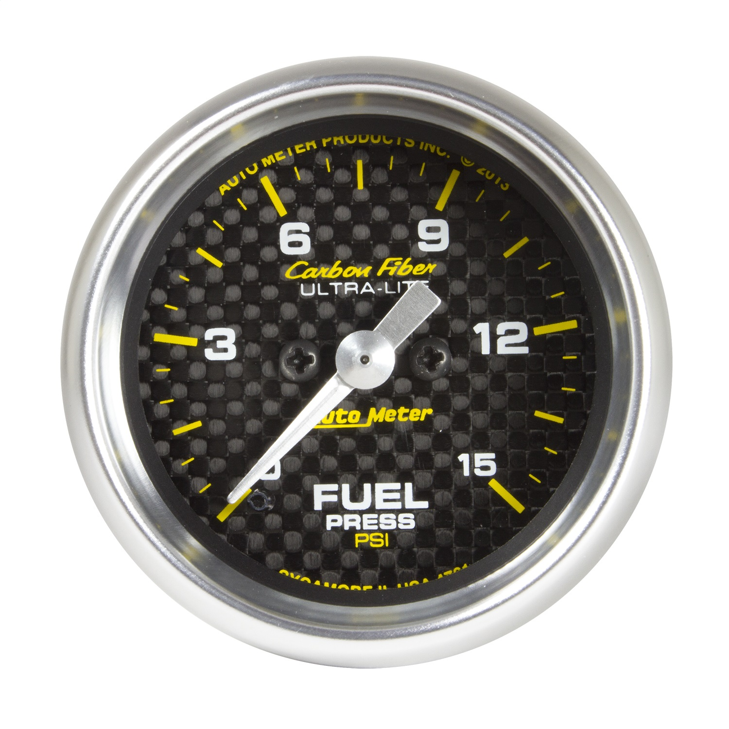 Purchase Auto Meter 4761 Carbon Fiber Electric Fuel