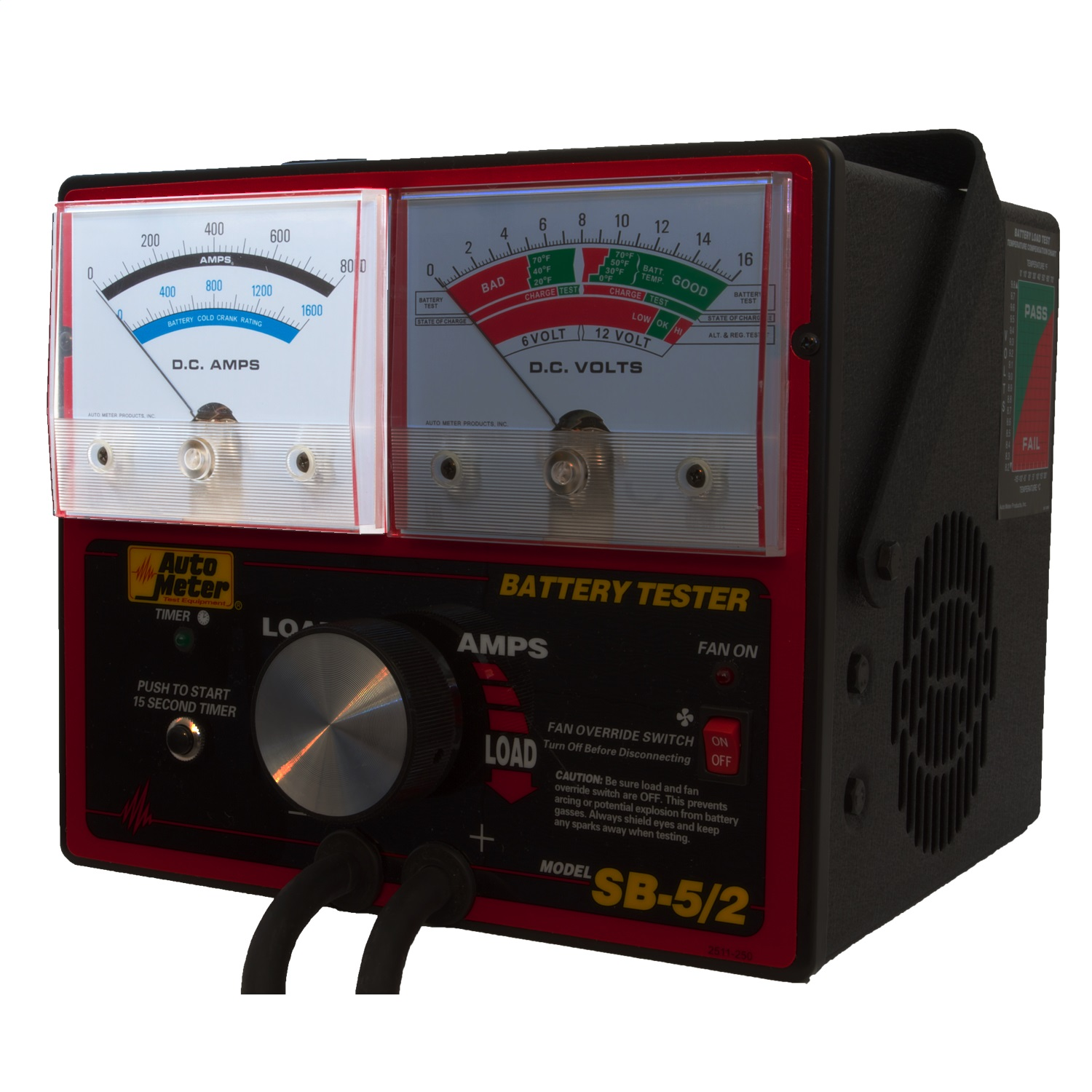 2 Battery Tester : Autometer sb battery tester ebay