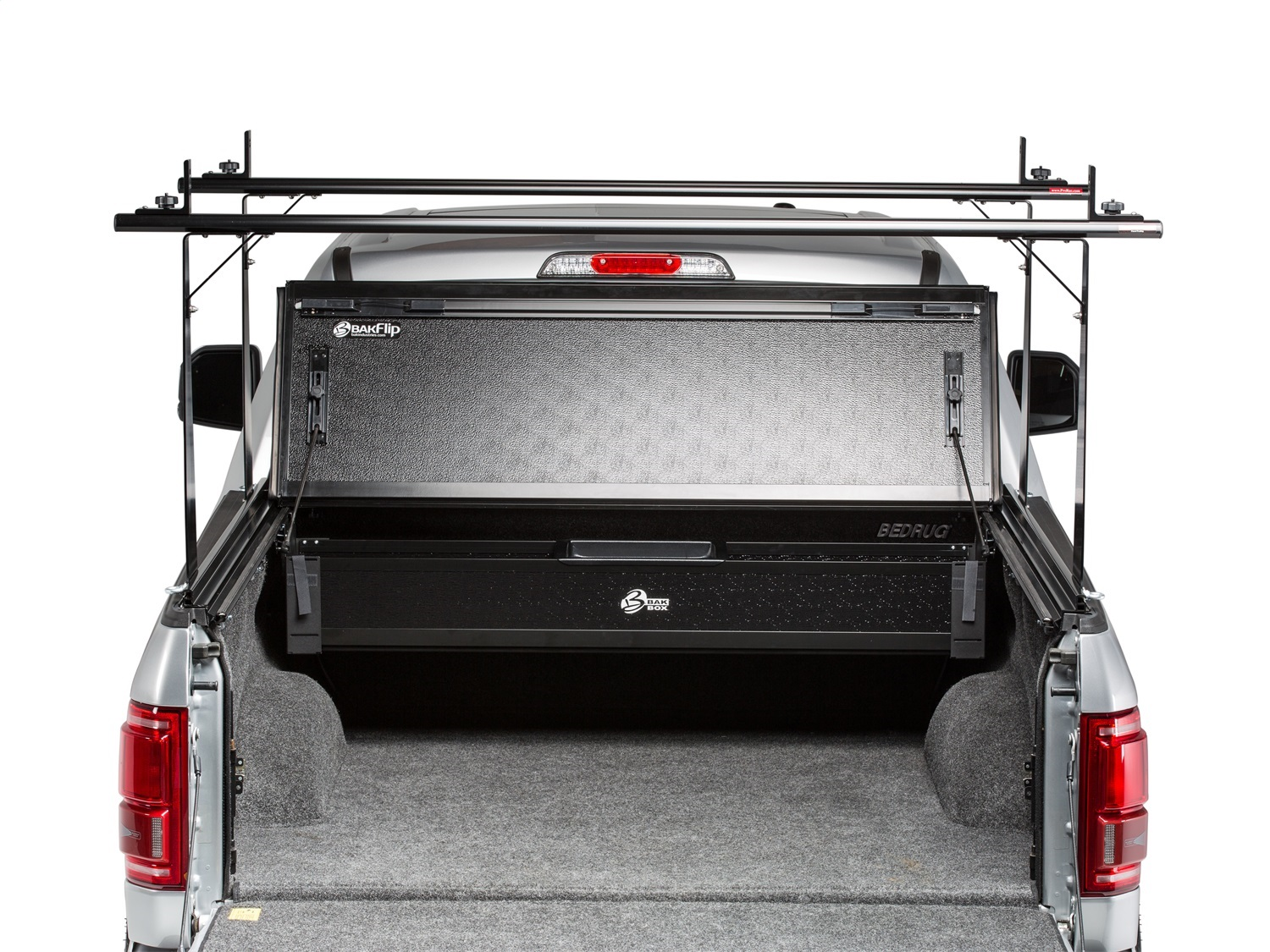 Bak Industries 26121bt Tonneau Cover Truck Bed Rack Kit Ebay