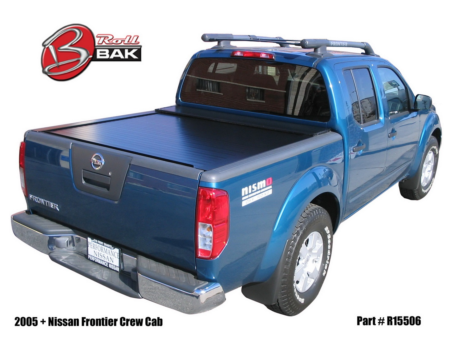 Bak rollbak g2 tonneau cover for 05 15 nissan frontier suzuki equator 6 bed