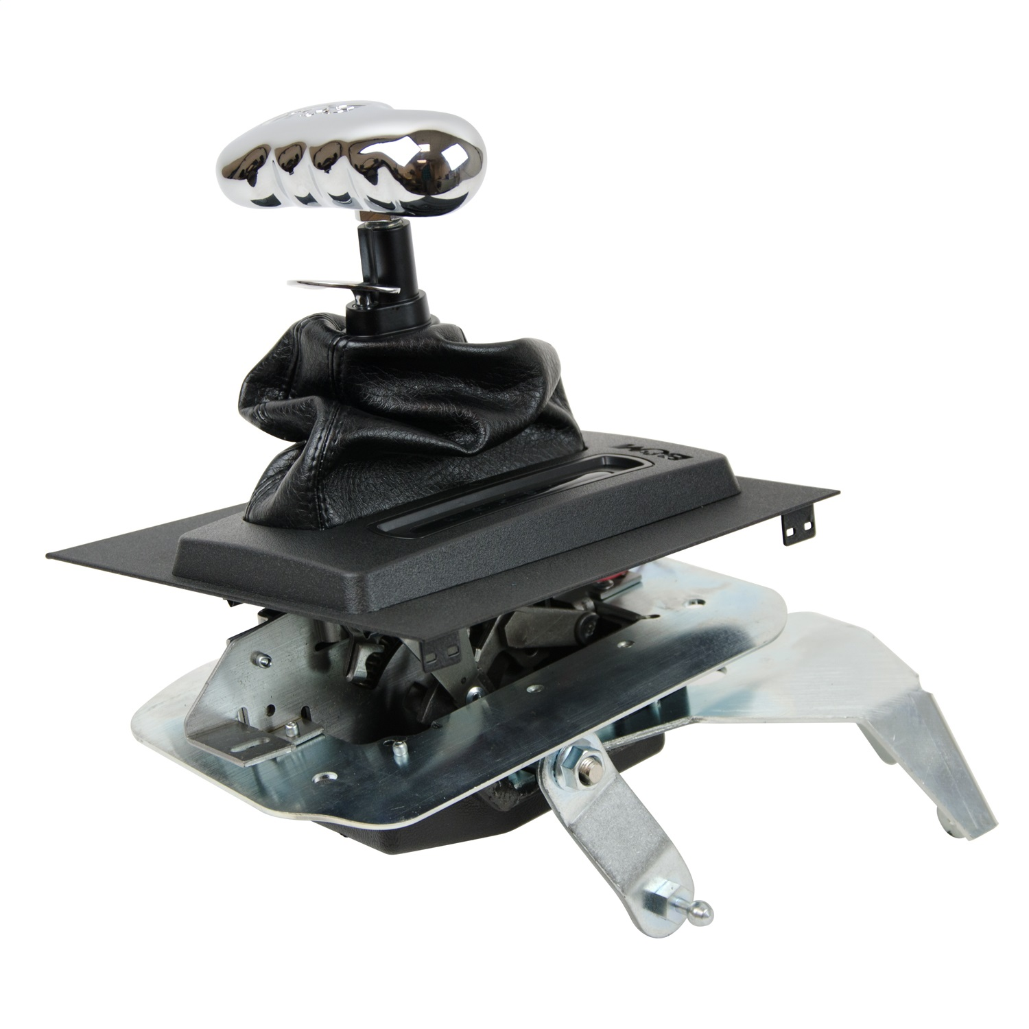 b m 81002 console hammer automatic transmission shifter assembly fits mustang ebay. Black Bedroom Furniture Sets. Home Design Ideas