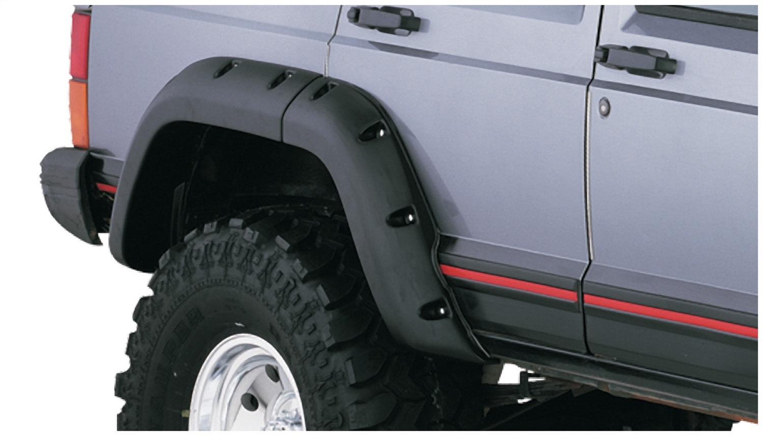 bushwacker xj cherokee fender - photo #14
