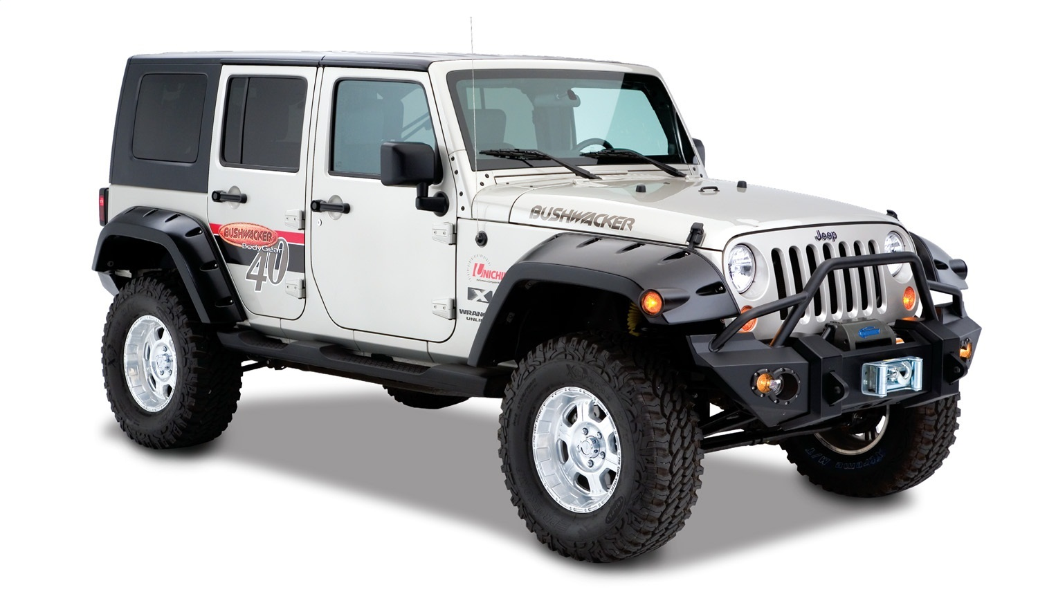 Bushwacker 10044-02 Max Coverage Pocket Style Fender ...