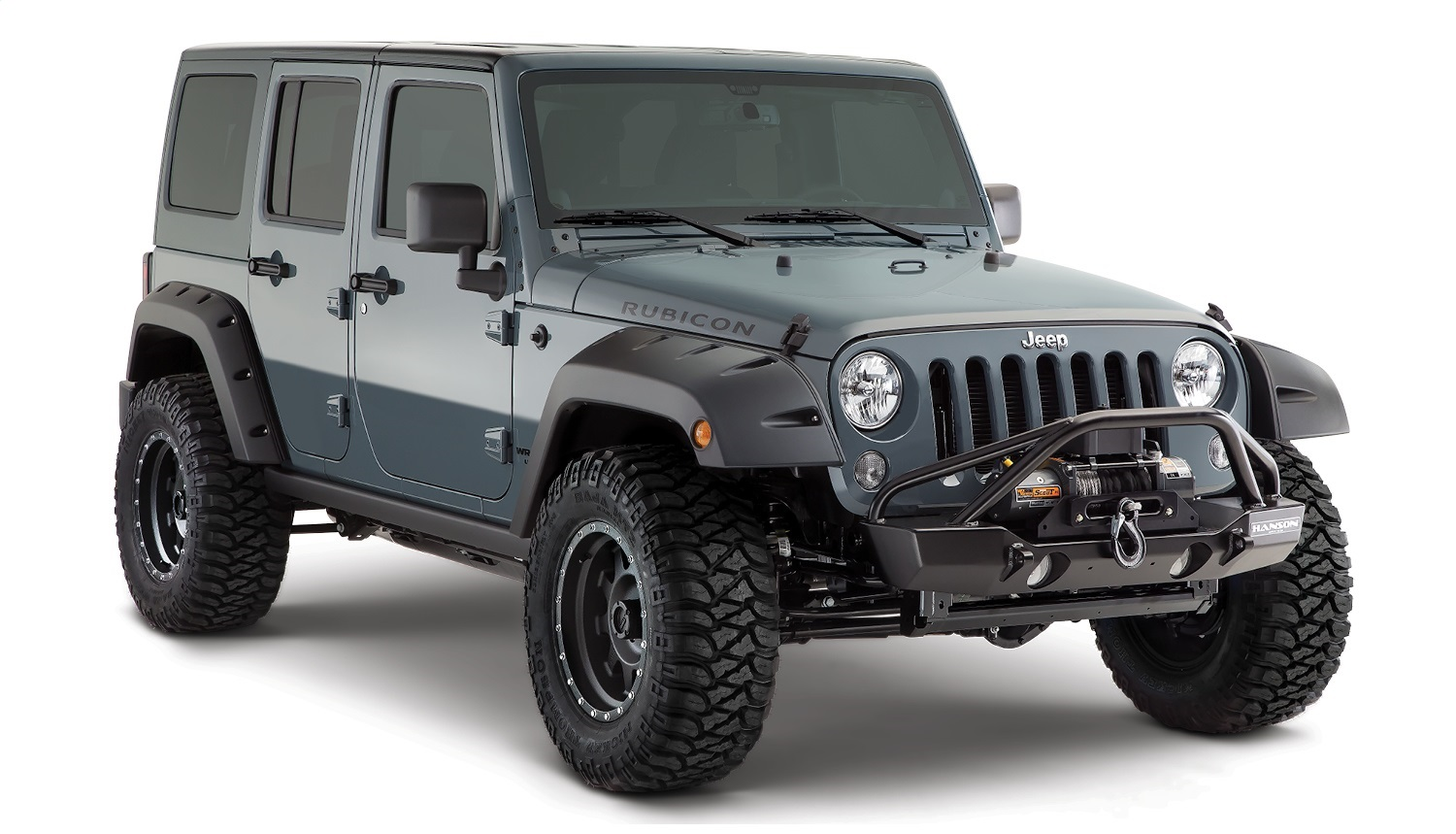 Bushwacker 10080-02 Pocket Style Fender Flares Fits 07-17 ...