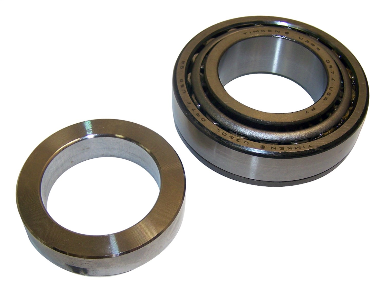 Spindle Axle With Bearing : New crown automotive axle bearing kit shaft jeep wrangler