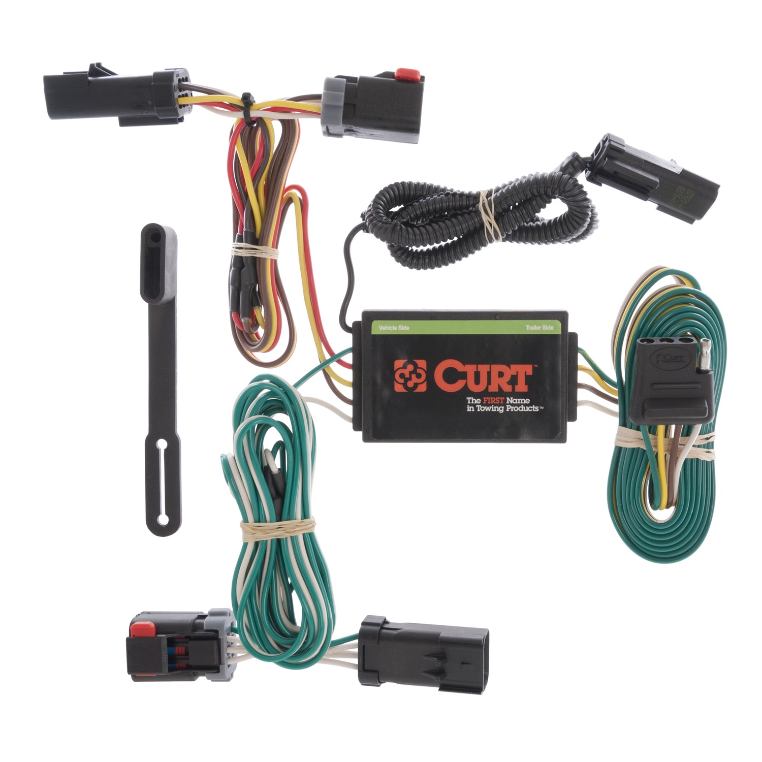 Rv Trailer Camper Parts S Wiring Harness Curt 55530 Custom Fits 04 08 Pacifica