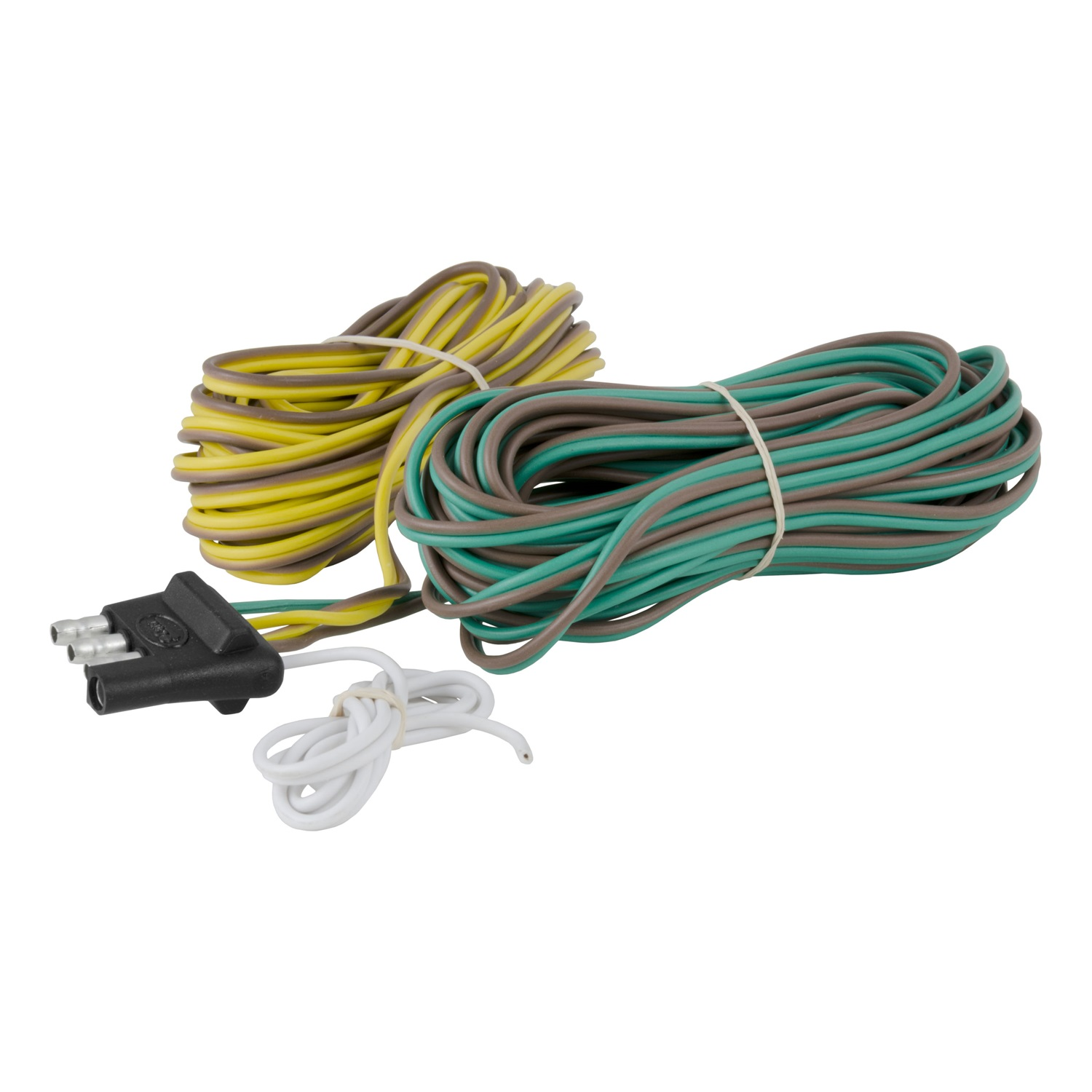Flat Cable Connectors : Curt manufacturing way flat wiring connector ebay