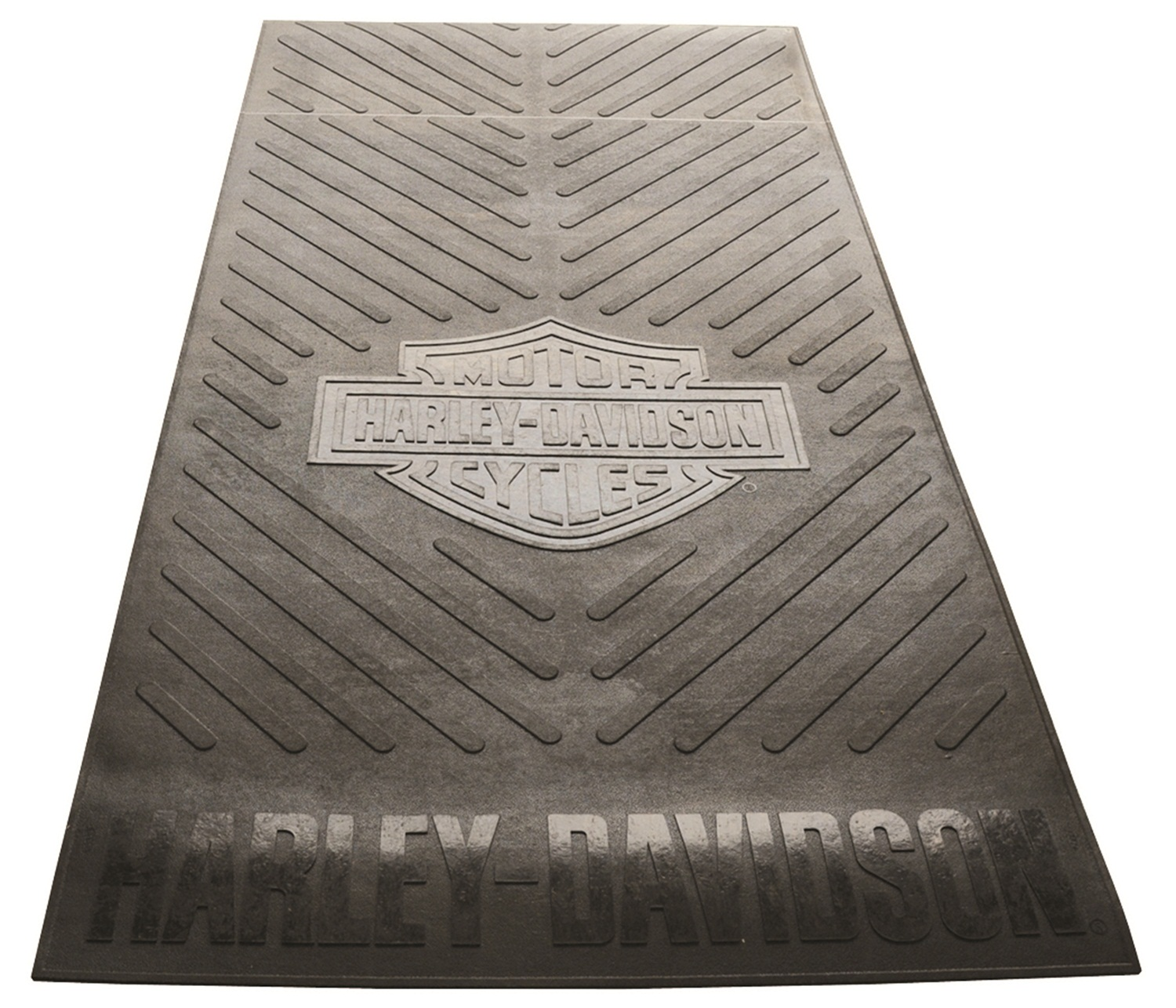 harley davidson bed mat  skid mat universal - 4 ft  x 8 ft  - retail box