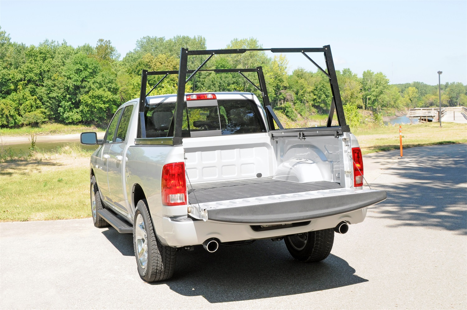 Dee Zee Invis A Rack Cargo Management System Truck Bed