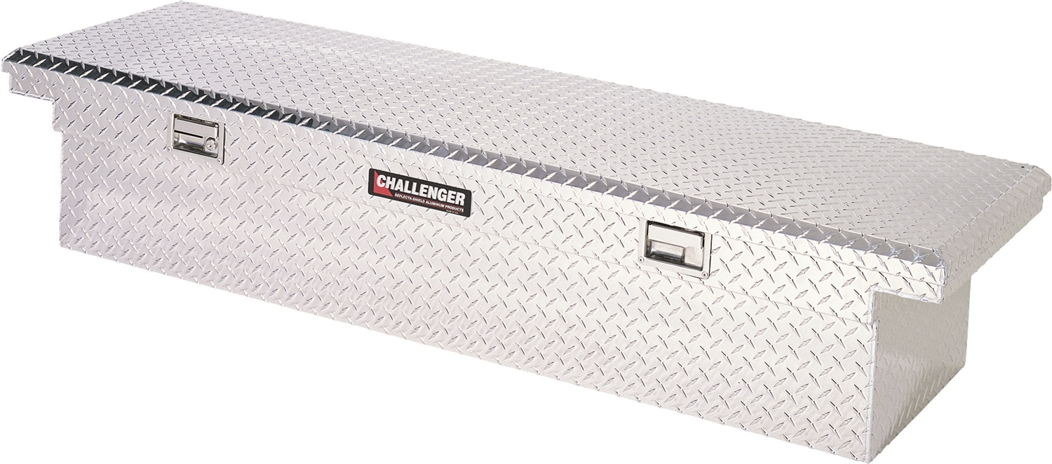 Deflecta Shield Deflecta-Shield Aluminum 5900LP Tool Box - Truck Bed Rail-to-Rail at Sears.com