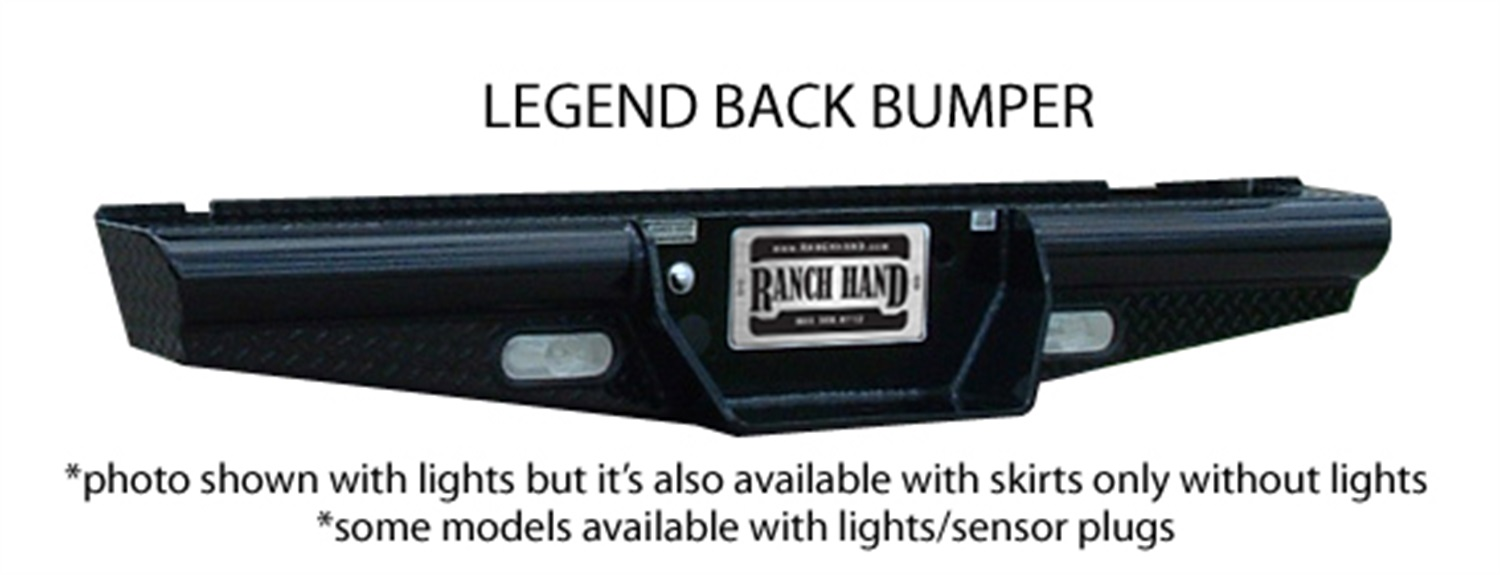Ranch hand bbc110blsl legend series rear bumper for 1998 ford f150 rear window replacement