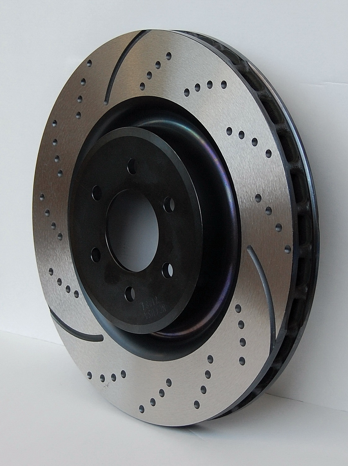 EBC Brakes Brakes GD7436 Rotor EBC 3GD Series Sport Slotted Rotors Set of Two Rear 13.6 in. Dia.