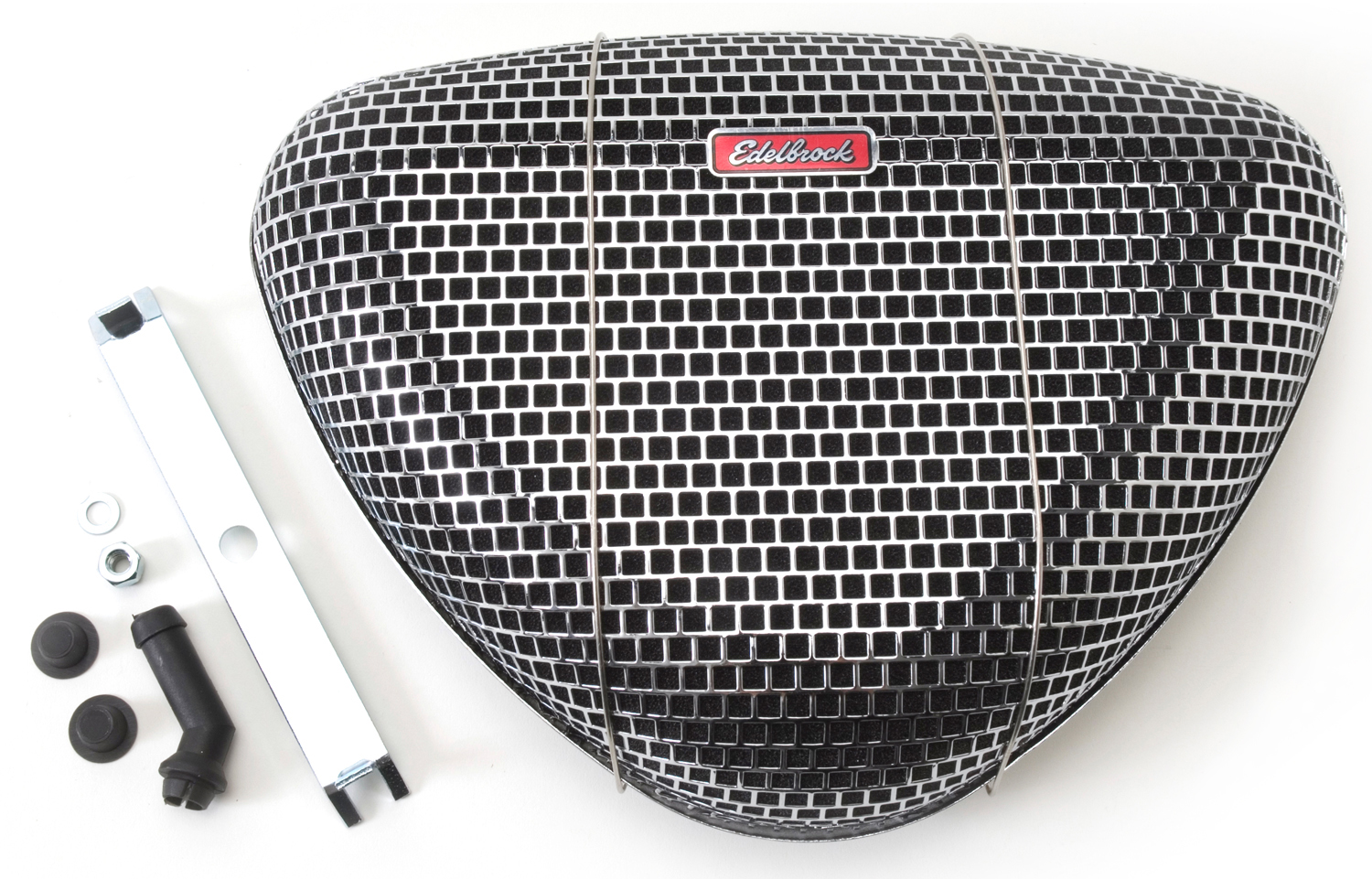 Low Profile Air Cleaner Assembly : Edelbrock pro flo series re usable air cleaner
