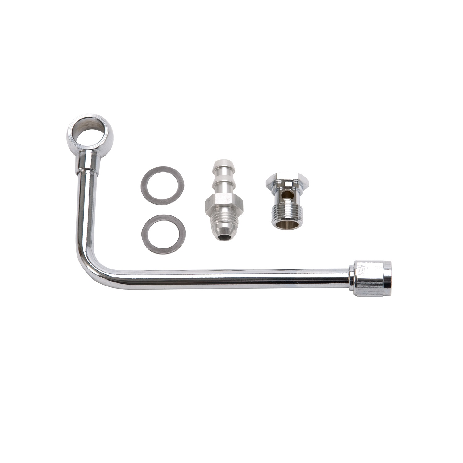 edelbrock 8126 single feed fuel line kit ebay. Black Bedroom Furniture Sets. Home Design Ideas